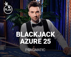 Blackjack 25 - Azure
